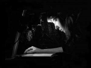 Self-portrait in the Darkroom